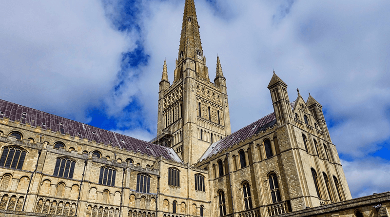 Norwich Cathedral, Norfolk