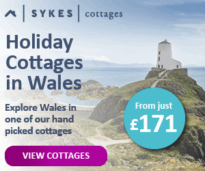 Cottages in Wales Sykes Banner