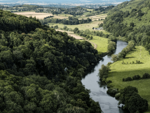 Wye Valley Landscape